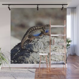 Western Fence Lizard Wall Mural