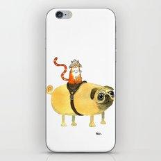 Commander Creamsicle iPhone & iPod Skin