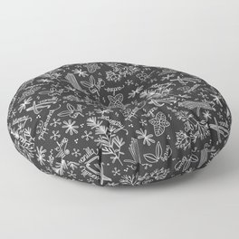 Kitchen Garden Floor Pillow
