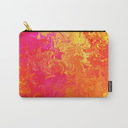 Fire Lava Passion Swirls Carry-All Pouch