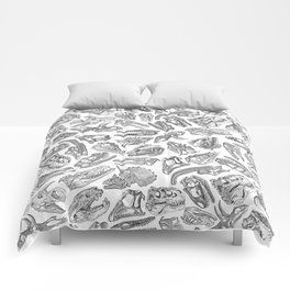 Paleontology Dream Comforters