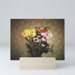 Flowers for her Mini Art Print