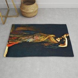 13,000px,600dpi-Leopold Schmutzler - The Flamenco Dancer - Digital Remastered Edition Rug