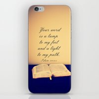 bible verses iPhone & iPod Skins featuring Bible  by Jo Bekah Photography