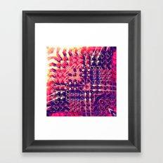 07-27-13 (Chandelier Glitch) Framed Art Print