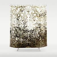 batik Shower Curtains featuring BATIK by ED design for fun