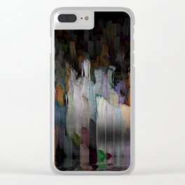 drowning city Clear iPhone Case