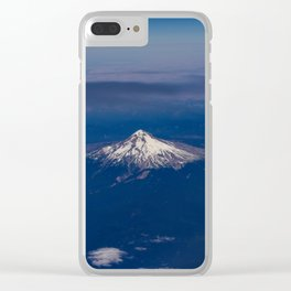 Pacific Northwest Aerial View - I Clear iPhone Case
