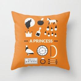 OUAT - A Princess Throw Pillow
