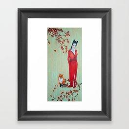 Kitsun Framed Art Print