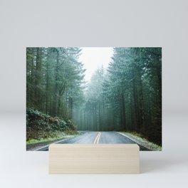 Forest Road Trip Mini Art Print