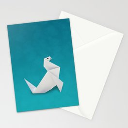 Seal origami Stationery Cards