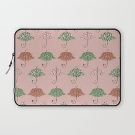 Blooming Umbrella Shape Tree Laptop Sleeve