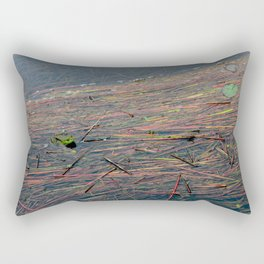 That Tarn Frog Rectangular Pillow