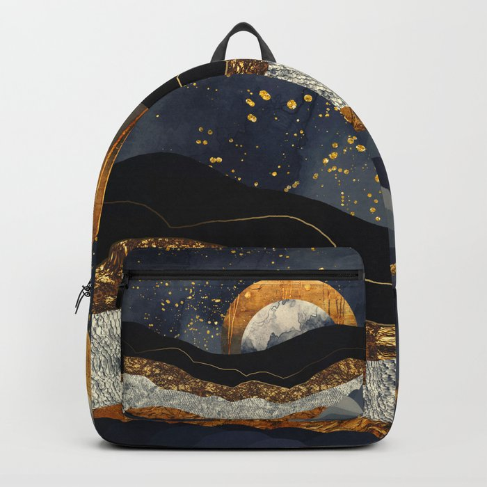 Metallic Mountains Backpack