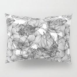 Black Roses Pillow Sham