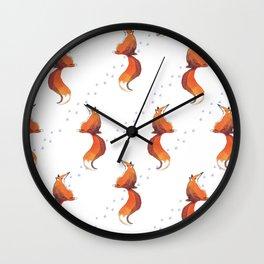 Foxy Wall Clock