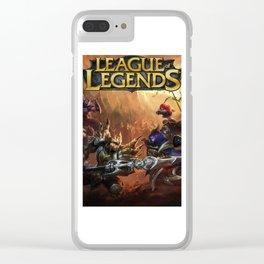 Battle Jungle Clear iPhone Case
