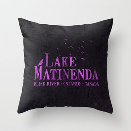 Matinenda Throw Pillow