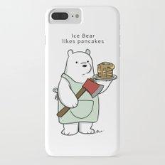 Ice Bear likes pancakes iPhone 7 Plus Slim Case