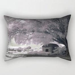 Infrared Pink Rectangular Pillow
