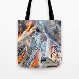 fire, ember and ash Tote Bag