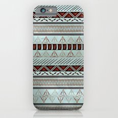 Harry Tribal Print Potter- Horcrux Blue Slim Case iPhone 6