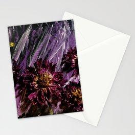 Dahlia Storm Stationery Cards