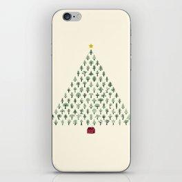 Christmas Treeangle iPhone Skin