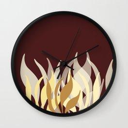 Beautiful, Nature Inspired Wall Clock