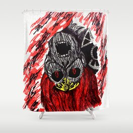 Triforce of Power: Ganondorf Shower Curtain