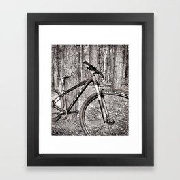 MTB BIKE Framed Art Print