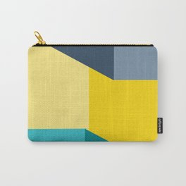 Almost Perfect- Simple Shapes Carry-All Pouch