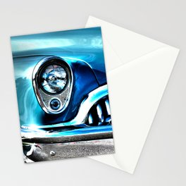 Blue Buick  Stationery Cards