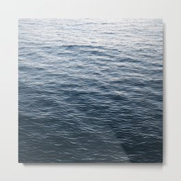 The Great Abyss | Minimalist Landscape Photography | Beach | Water  Metal Print