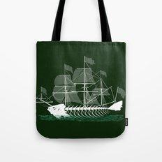 Cutter Fish Tote Bag