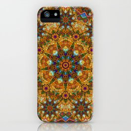Aztec paisley iPhone Case