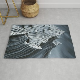 'Strange Peaks and Ridges II' Rug