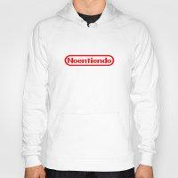 nintendo Hoodies featuring Nintendo by Carlos Bellod