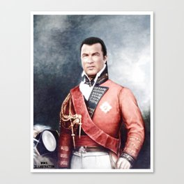 Steven Seagal Canvas Print