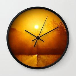 The Sunrise Wall Clock