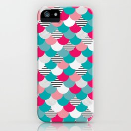 Scale Pattern iPhone Case