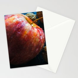 Foodphotography : Apple and nuts Stationery Cards