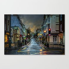 Wet Morning In Kemp Town Canvas Print