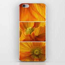 Poppy love iPhone Skin