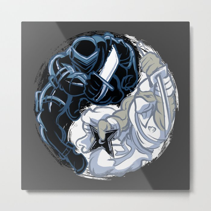 Snake Eyes/Storm Shadow  Metal Print