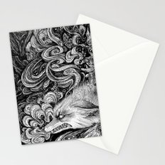 Swamp witch Stationery Cards