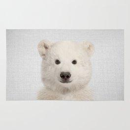 Polar Bear - Colorful Rug
