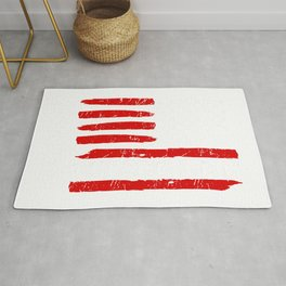 Forth 4th Of July Gift Funny Outfit Make America Skate Again T-Shirt Rug