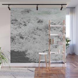 Minty Splash Wall Mural